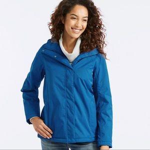 Blue L.L. Bean Women's Winter Warmer Jacket